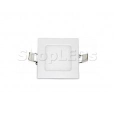 Светодиодная панель BKL-T-92-3W (белый квадрат, 3W, 80x80x12мм) (теплый белый 3000K)