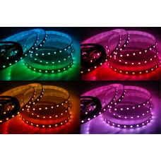 Открытая светодиодная лента SMD 5050 60LED/m IP33 24V RGB
