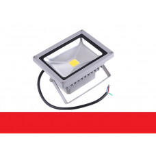 Светодиодный прожектор 30W IP65 220V Red